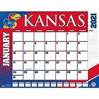 ターナー スポーツ カンザス ジェイホークス 2021 22X17 デスクカレンダー (21998061480)