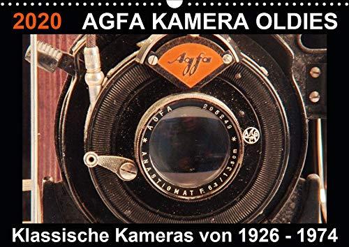Price comparison product image AGFA KAMERA Oldies Klassische Kameras von 1926-1974 (Wandkalender 2020 DIN A3 quer): in diesem hochwertigen Fotojahreskalender Werden Sie mit 14 Seiten) (CALVENDO Hobbys) [Calendar] Fraatz