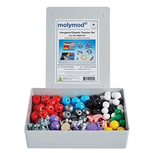 Molymod MMS-004Anorganisches/Organisches Chemie-Molekular-Modell, Lehrer-Set (108Atomteile)