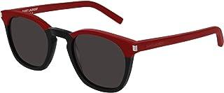 Saint Laurent - Gafas de Sol SL 28 RED BLACK/GREY hombre