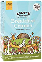 Nutritionally complete and natural dry food for adult dogs (4 months +) Full of protein and prepared with proper meat: 26 Percent chicken and 4 Percent turkey Contains yoghurt, berries and sunflower seeds Dog food gently baked until golden and crunch...