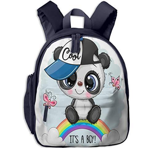 Kids Backpacks Cute Kawaii K-Ung Fu Pan-Da Cute Backpacks For Teen Girls Backpacks For School Little Kid Book Bag For Preschool Kindergarten Elementary Durable Roomy Pockets 12inch