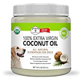 Stuart Pet Supply Co. Coconut Oil for Dogs (16oz)| Certified Organic...