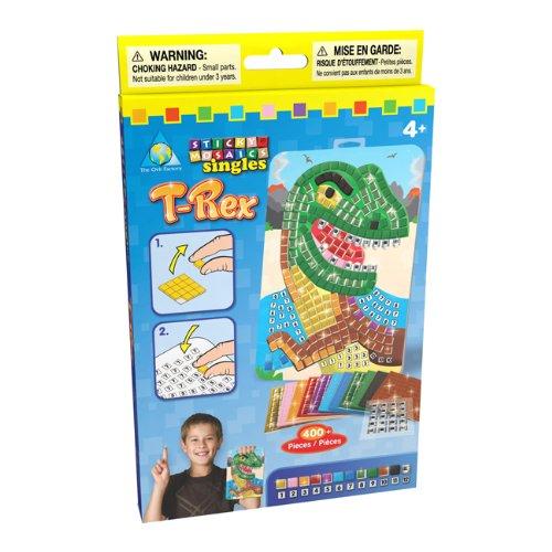 ORB Factory - ORB63276 - Loisir Creatif - Mini Mosaique - T Rex