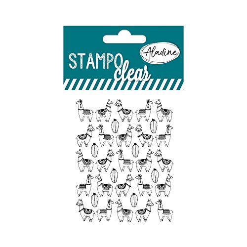 Aladine 04388 Stampo Clear Individuel Lama 2