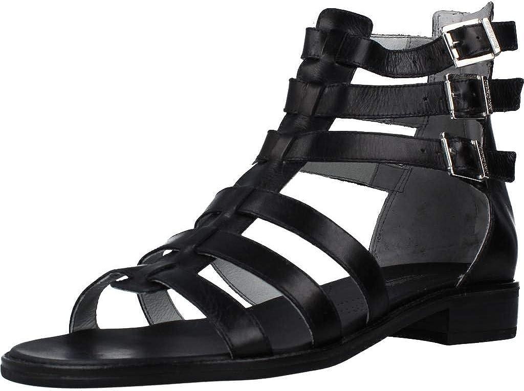 Nero 世界の人気ブランド Giardini - Slave Sandal 38 無料 in Leather