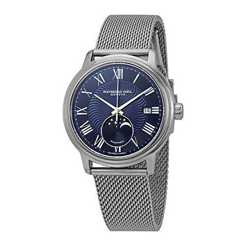 Raymond Weil maestro automatico orologio, 40mm, giorno, fasi lunari,...