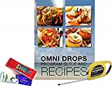 Omni Drop Program , Authentic Omnitrition - Basic Bundle Includes*** 4 oz Bottle Omni Drops with Vitamin B12 Program Guide, Samples and a Snapgate 10 Ft. Carabiner Tape Measure