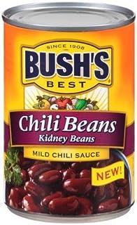 Bush's Best Kidney Chili Beans in Mild Chili Sauce, 16 oz (Pack of 6)