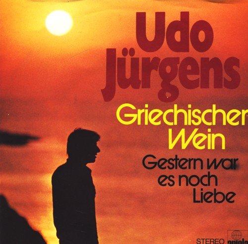 Griechischer Wein / Gestern war es noch Liebe / Udo Jürgens / Bildhülle / ariola # 13 700 AT