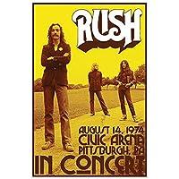 RUSH ラッシュ - CONCERT/ポスター 【公式/オフィシャル】