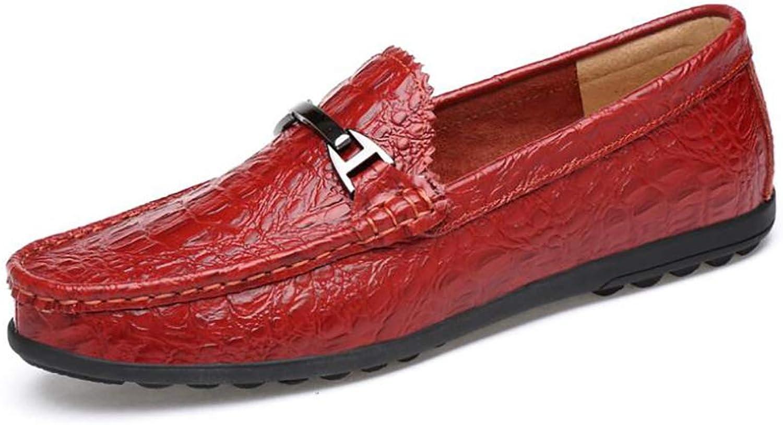 YUAN Flache Slipper, atmungsaktive Slipper und Slip-One-Slipper für Herren und leichte Slip-Ons Driving Herrenschuhe faulen Schuhe