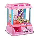 Garra Toy Grabber la Máquina Automático de control remoto o un juguete Chica Educación Dual Mode Manual Mini garra máquina de niños Mini Máquina de Garra ( Color : Photo Color , Size : 33.5x29x24cm )