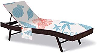 """83"""" Long Beach Chair Cover,Thicken Chaise Lounge Chair Cloth Cover,Patio Swimming Pool Chairs Recliners Cover,Beach Towel ..."""