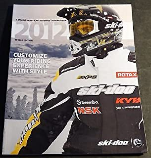 2012 SKI-DOO SNOWMOBILE CLOTHING & ACCESSORIES CATALOG NEW 150+ PAGES (202)