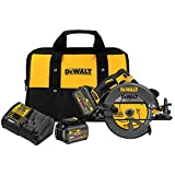 DEWALT DCS575T2 FLEXVOLT 60V MAX Brushless Circular Saw with Brake and 2 Battery Kit,...