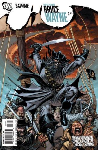 Batman Return of Bruce Wayne #3 Comic