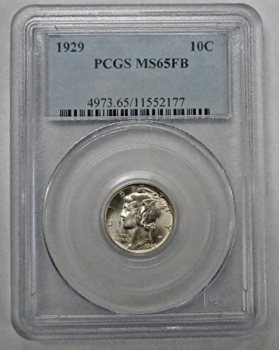 1929 Mercury Dime MS65FB PCGS