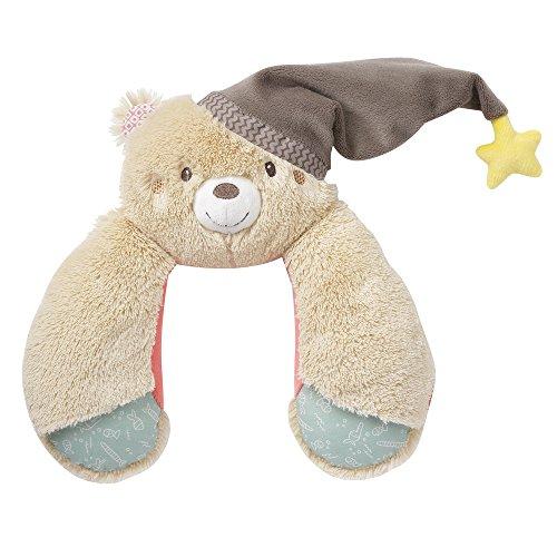 Fehn 060263 Bruno Coussin de nuque ergonomique avec fonction support et soulage pour poussette, siège bébé ou voiture Multicolore