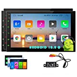 Double Din Android 10.0 Car Stereo GPS Navigation 2 Din Car Radio Capacitive