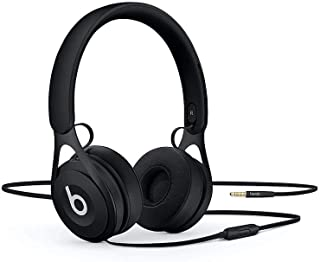 Beats Ep Wired On-Ear Headphones - Battery Free For Unlimited Listening, Built In Mic And Controls - Black