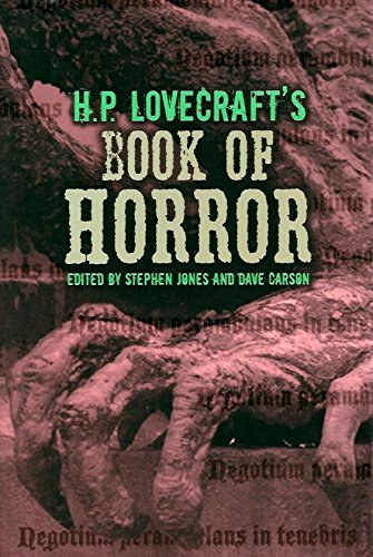 H. P. Lovecraft's Book of Horror 1435107454 Book Cover