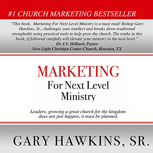 Marketing for Next Level Ministry audiobook cover art