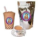 Milk Tea Boba / Bubble Tea Drink Mix By Buddha Bubbles Boba 10 Ounces (283 Grams)