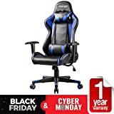 Merax Gaming Chair Computer Home Desk Chair Racing Comfy Office Chair Ergonomic High