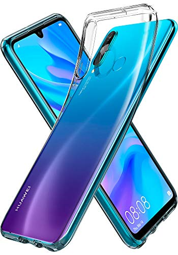 Huawei P30 Lite Hülle Transparent TPU Silikon Handyhülle Durchsichtige Schutzhülle Case - Crystal Clear