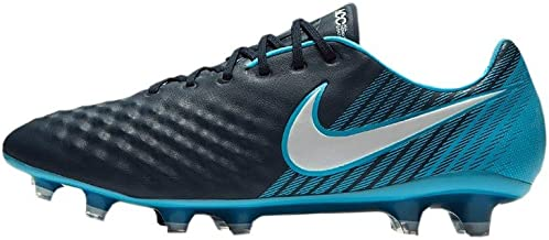 Nike Men's Magista Opus II FG Soccer Cleat (Gamma Blue, Glacier Blue)