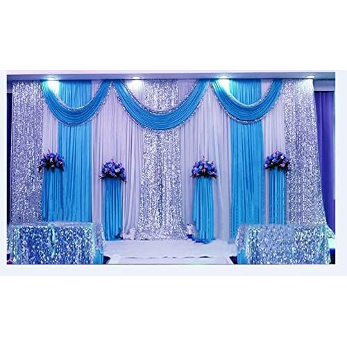 Amazon Lb Wedding Stage Decorations Backdrop Party Drapes Ivory