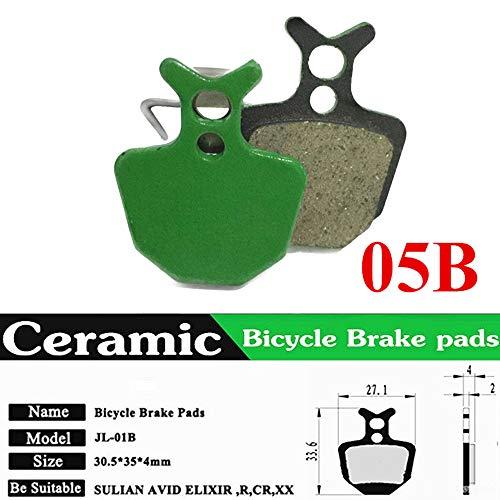Rosepoem Pastillas de Freno de Disco de Bicicleta para MTB Freno de Disco hidráulico para Formula Oro K18 / K24 / Puro Giant DA6 / DA8-05B
