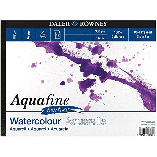 Daler Rowney Aquafine Pad Landscape Texture A4