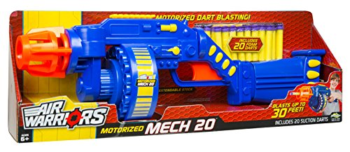 Buzz Bee Toys Air Warriors Motorized Mech 20 Blaster