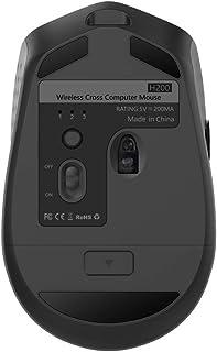 فأرة لاسلكية H200 2.4 جيجا هرتز للكمبيوتر وماوس MX Master مفاتيح ذاتية التحديد عجلة معدنية قابلة لإعادة الشحن من أجل Windo...