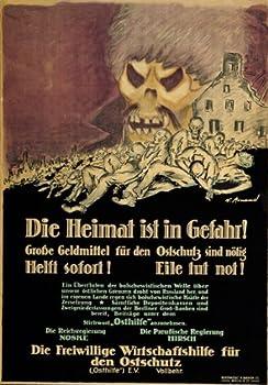 WA48 Vintage WWI German Anti-Communist Investment War Poster Print WW1 Re-Print - A3  432 x 305mm  16.5  x 11.7