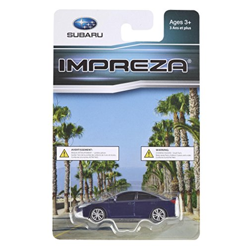 Official Genuine Subaru 2015+ IMPREZA 1/64 Die Cast Toy Car 265555 Blue New OEM