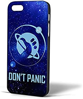 Hitchhiker's Guide To The Galaxy for iPhone Case (iPhone 5/5s Black)