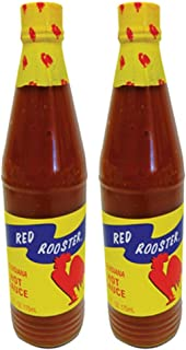 Red Rooster Louisiana Hot Sauce 6 Fl. Oz. (175ml) - Pack of 2