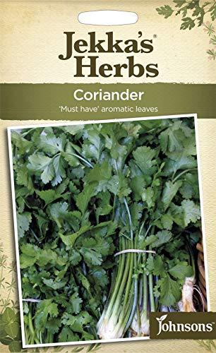 Portal Cool Johnsons - Jekka'S Herbes - Paquet Pictorial - Coriandre - 300 graines