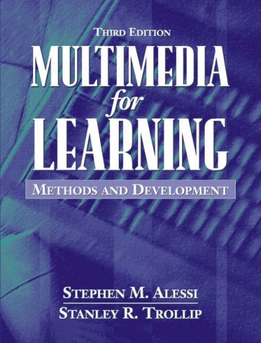 Multimedia For Learning Methods And Development 3rd Edition