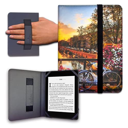 Funda para Libro electrónico eReader eBook de 6 Pulgadas - Woxter, Tagus, BQ, Energy, SPC, Sony, Inves, Papyre, Wolder, Nolim - 6  Universal - elástico (61)