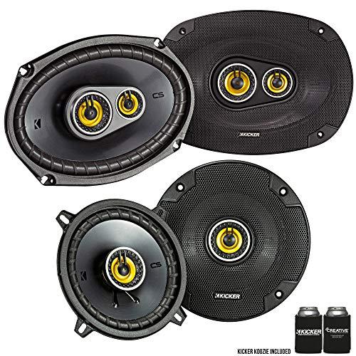 Kicker for Dodge Ram Truck 1994-2011 Speaker Bundle - CS 6x9 coaxial Speakers, and CS 5.25' coaxial Speakers.