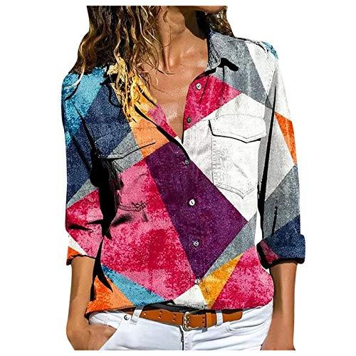 VEMOW Camisetas Moda para Mujer Talla Grande Manga Corta de Encaje Patchwork Correa de Hombro frío Top(X1 Blanco,S)