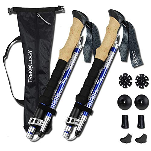 SULOV bastoni da Trekking Unisex Nordic Walking bastoni