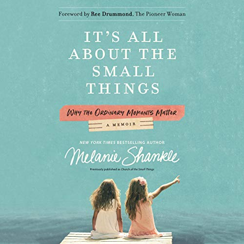 It's All About the Small Things audiobook cover art