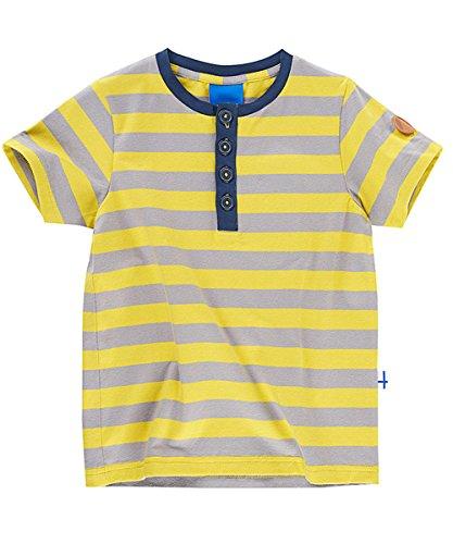 Finkid Tikkari T-Shirt mit Knopfleiste und UV Schutz