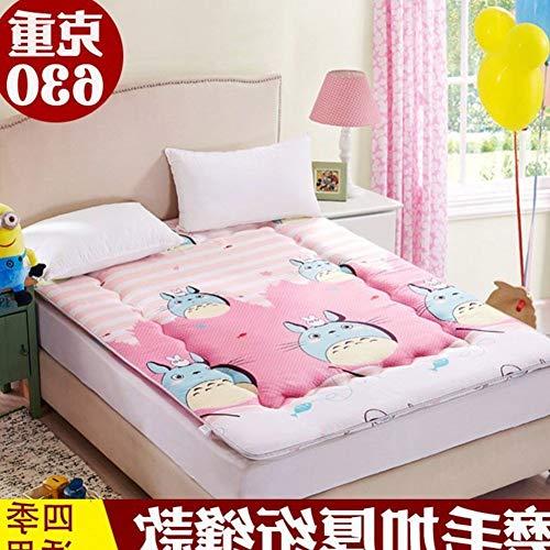 YLCJ opvouwbare matras, inklapbaar, matrasbeschermer, waterdicht, 90 x 200 cm, 35 x 79 cm