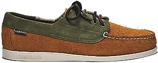 Sebago Askook JIB Brown Tan-Green Foliage 71113GW